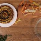 Cea mai colorata tarta cu legume. Trebuie sa incerci!
