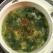 Supa de primavara cu branza si gogonele de legume