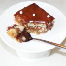 Prajitura cu mac si ganache de ciocolata