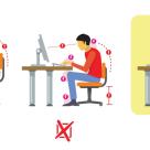 Pozitia corecta la calculator – Iata ce se intampla cu corpul tau cand stai prea mult pe scaun!
