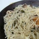 Spaghete cu ciuperci si busuioc