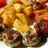Idee de pranz: Aripioare marinate in stil thailandez cu garnituri