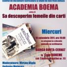 Invitatie la Academia Boema