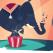 Elefantul curcubeu, safari creativ urmat de concerte jazz pentru parinti si copii