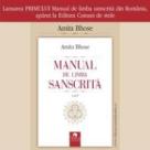 Se lanseaza primul manual de limba sanscrita