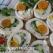 Rulouri din piept de pasare cu morcov si ou