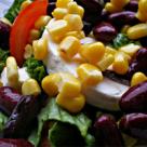 Salata de legume si branza