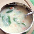 Supa-crema de pui cu spanac