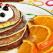 De incercat la micul dejun: Pancakes cu suc de portocale