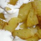 Cartofi cu mustar la cuptor