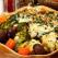 Sufleu de paste cu broccoli