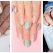 MANICHIURA PASTEL: 20 de modele de unghiuțe delicate și feminine, în nuanțe dulci de pastel
