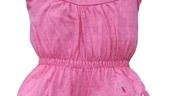 Salopeta roz pentru fetite