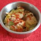Sarmale cu ciuperci, orez si stafide