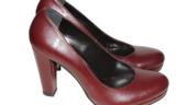 Pantofi bordo La Femme
