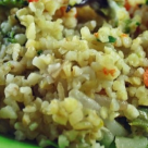 De incercat la pranz: Salata de bulgur cu cotlet de porc