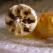 Inghetata de vanilie cu mar copt