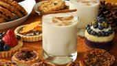 Lapte si paine cu ceva dulce