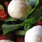 Salata de primavara cu untisor