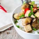 Vinete chinezesti cu toufu in stil Sichuan