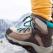 Bocanci de munte pentru drumeții prin zăpadă