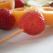 Desert light de vara-frigarui de fructe