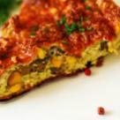Mic dejun de duminica: Omleta cu ciuperci si porumb la cuptor