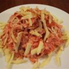 Salata de morcovi si mere