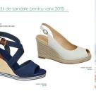 Noi selectii de sandale pentru vara 2015