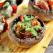 Frigarui cu ciuperci, chorizo si unt cu usturoi verde