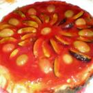 Tarta cu gem si fructe
