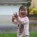 \'Doamne!\' O fetita vede pentru prima data ploaia!