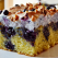 Desertul de duminica: Prajitura cu afine si bezea