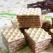 Napolitane cu crema de ciocolata si nuca de cocos