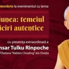 Gonsar Tulku Rinpoche revine in Romania