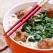 Supa de taitei cu chiftele si spanac