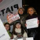 Ce vor ciumpalacele feministe din Piata Universitatii