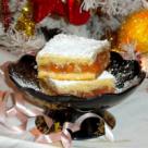 Placinta cu dulceata de portocale