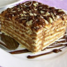 Tort de biscuiti cu crema de ciocolata