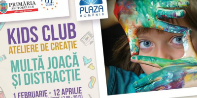 Atelierele creative Kids Club...