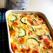 Omleta italiana cu zucchini si mozzarella