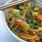 Taitei chinezesti cu legume