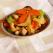 Telina, caju, morcovi stir fry