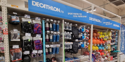 15 shopping corners Decathlon...