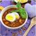 Supa de linte cu turmeric si ou de rata