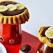 Reteta de post: Minitarte cu sos de cacao si banane