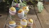 Briose de Paste in suporturi si coji de oua