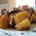 Ceafa de porc cu cartofi in sos de iaurt