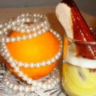 Crema de portocale la pahar
