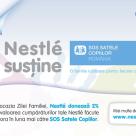 Nestle vine in sprijinul Organizatiei SOS Satele Copiilor Romania